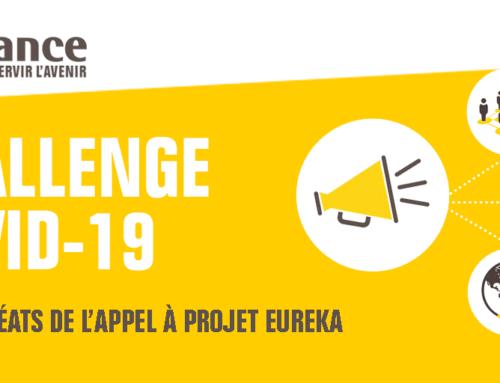 Challenge international COVID-19 : Bio Logbook dans les 8 startups et PME françaises innovantes lauréates de l'appel à projets EUREKA