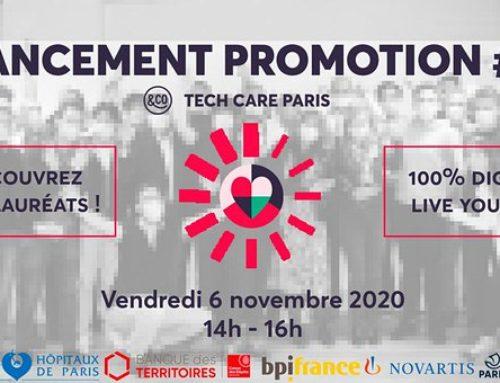 Bio Logbook becomes a member of Tech Care Paris, the Paris & Co incubator's innovation platform for health and wellness.